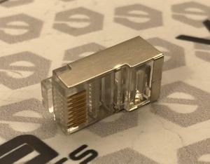 Конектор VE RJ-45 ЕКРАН. / для обжимки витої пари екранований