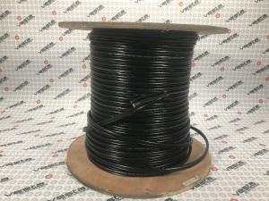Кабель Finmark F 5967BV BLACK-2X0.75POWER / комбінований / +живлення 2x0.75 / для зовнішньої прокладки / (бухт 305м) (оплата по факту)