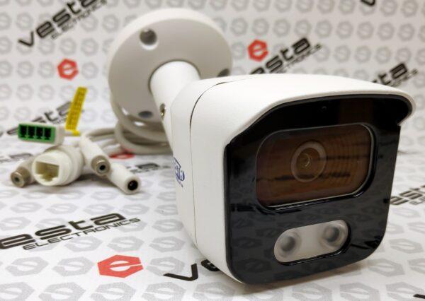 IP-камера LONGSE BMSAFE500 (3.6) / 5 мп sony starvis / фокус 3.6 мм монофокал (85°) / іч нічна підсвітка до 20м / poe / слот sd до 128гб / p2p bitvision / корпус циліндр ip67 білий