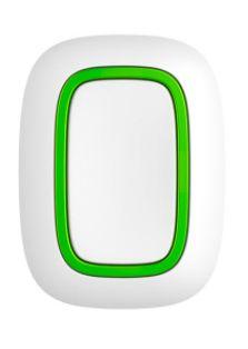 AJAX BUTTON / БІЛА / безпровідна тривожна кнопка / колір білий