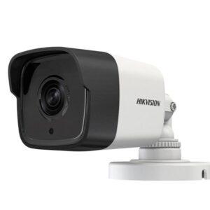 HD-камера HIKvision DS-2CE16H0T-IT5E (3.6) / 5 мп / ahd-tvi-cvi-analog / фокус 3.6 мм монофокал (79°) / іч нічна підсвітка до 80м / корпус циліндр ip67 / колір білий
