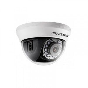 HD-камера HIKvision DS-2CE56DOT-IRMMF (3.6) / 2 мп / ahd-tvi-cvi-analog / фокус 3.6 мм монофокал / іч нічна підсвітка до 20м / корпус купол пластик / колір білий