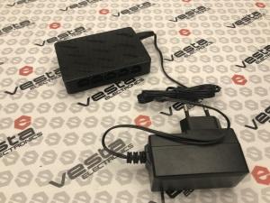 Комутатор Tenda SG105 5-PORT / кількість каналів 5 ethernet порта / gb / бж зовнішній 5v