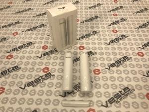 AJAX DOORPROTECT / БІЛИЙ / безпровідний геркон - датчик відкриття дверей та вікон / колір білий