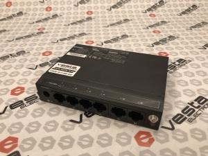 Комутатор UTEPO SF-6P (POE) / кількість каналів 4 port poe / ethernet 2 порта / 100мб. / бж зовнішній