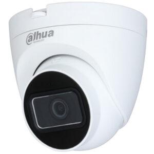 HD-камера DAHUA DH-HAC-HDW1400TRQP (2.8) / 4 мп / ahd-tvi-cvi-analog / 2560×1440 / іч нічна підсвітка до 25 м / фокус 2.8мм монофокал / колір білий