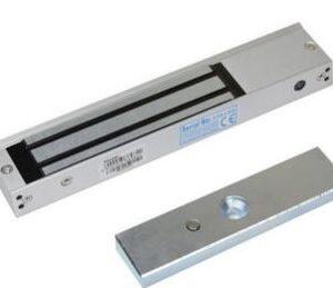 ATIS MS-280LED / МАГНІТНИЙ / електроригельний замок / 280 кг / світлодіодна індикація / живлення: dc12v/500ma / 250х47х25 мм / колір сірий