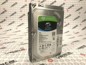 HDD Жорсткий диск Seagate SKYHAWK 2 TB / 5900rpm / 64mb / 3.5 sata 3