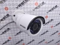 HD-камера HIKvision DS-2CE16D0T-IRF (3.6) / 2 мп / ahd-tvi-cvi-analog / фокус 3.6 мм монофокал (79°) / іч нічна підсвітка до 20м / корпус циліндр ip67 / колір білий